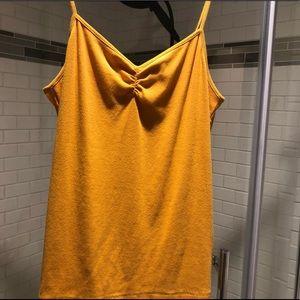 Orange camisole tank top